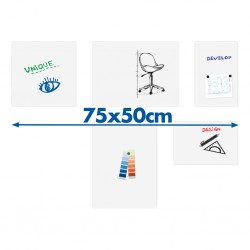 Tableau blanc board-up Legamaster 75x50cm