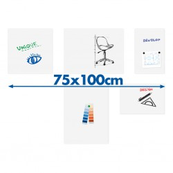 Tableau blanc board-up Legamaster 75x100cm